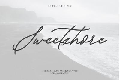 Sweetshore Casual Script Font
