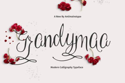 Grandymaa Typeface + Swashs