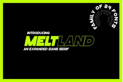 Meltland Font Family