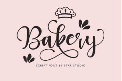 Bakery Script Font