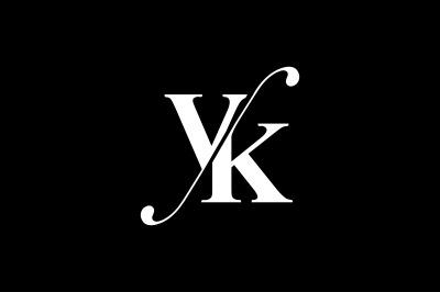WV Monogram Logo Design By Vectorseller | TheHungryJPEG com