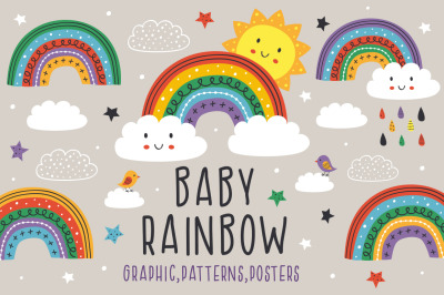 baby rainbow collection