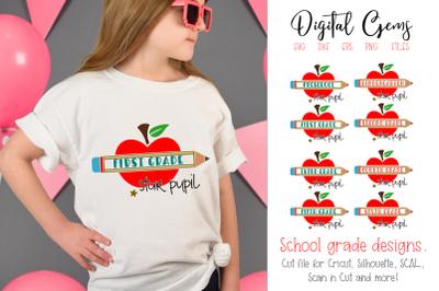 School grade designs