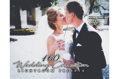 160 Wedding Collection Lightroom Mobile Presets