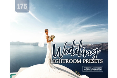 175 Wedding Lightroom Mobile Presets