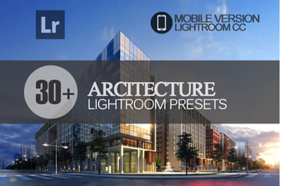 30+ Architecture Lightroom Mobile Presets
