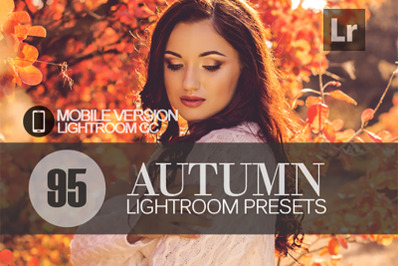 95 Autumn Lightroom Mobile Presets