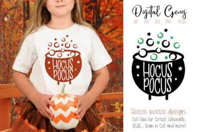 Cauldron Halloween design