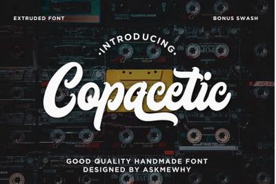 Copacetic - Extruded Various Script