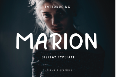 Marion - Display Type face
