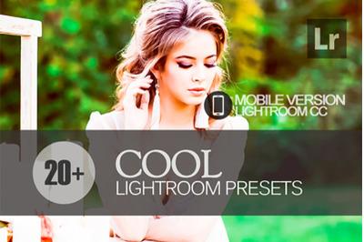 20 Cool Lightroom Mobile Presets