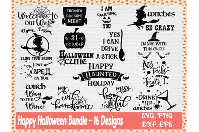 Halloween Quote SVG Bundle