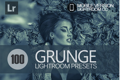 100 Grunge Lightroom Mobile Presets