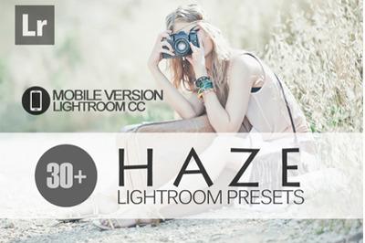 30+ Haze Lightroom Mobile Presets