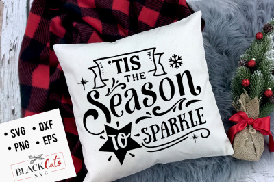 Tis the season to sparkle SVG