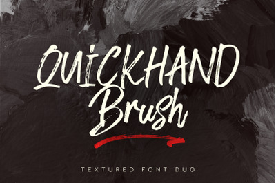 Quickhand Font Duo