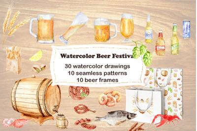 Watercolor Beer Festival