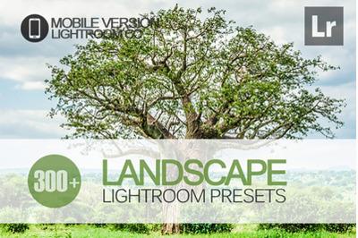 300+ Landscape Lightroom Mobile Presets