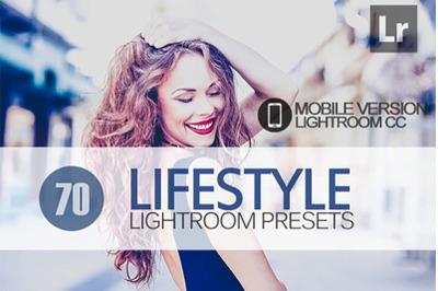 70 LifeStyle Lightroom Mobile Presets