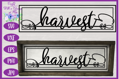 Harvest SVG | Thanksgiving SVG | Fall SVG | Autumn SVG | Farmhouse SVG