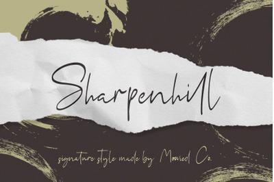 Sharpenhill Signature