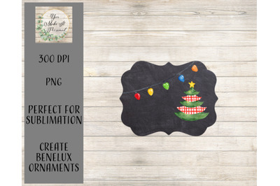 Teacher Ornament Template - Perfect For Sublimation