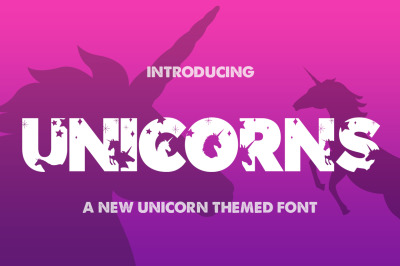 The Unicorns Font