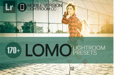 170+ Lomo Lightroom Mobile Presets