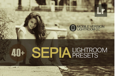 40+ Sepia Lightroom Mobile Presets