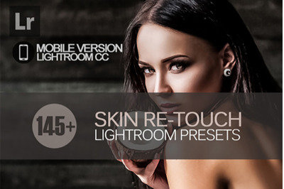 145+ Skin ReTouch Lightroom Mobile Presets