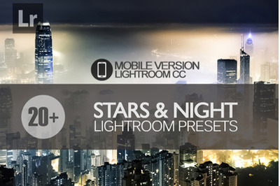 20+ Stars and Night Sky Lightroom Mobile Presets
