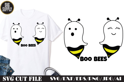 Boo Bees Halloween SVG Cut File