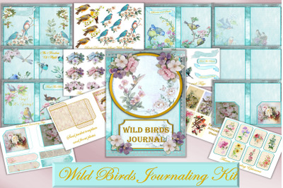 Printable Journal Kit with Free Clipart and Ephemera