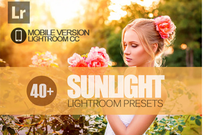 40+ Sunlight Lightroom Mobile Presets