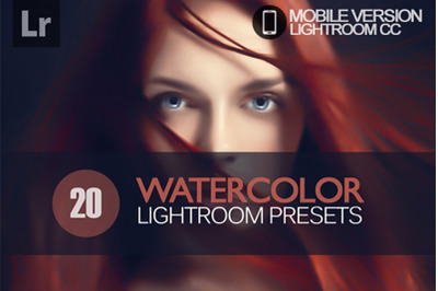 20 Watercolor Lightroom Mobile Presets