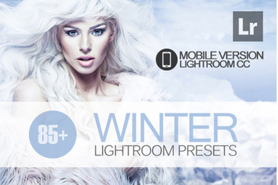 85+ Winter Lightroom Mobile Presets