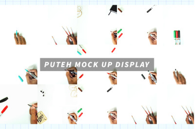 Puteh Display Mock Up