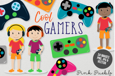 Gamer Clipart and Vectors