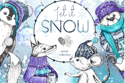 Let it snow. Winter collection