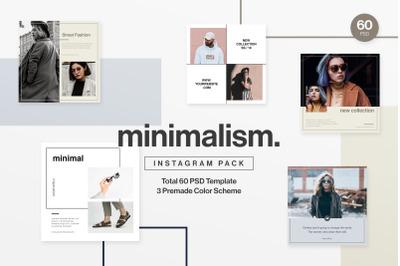 Minimalism - Instagram Pack