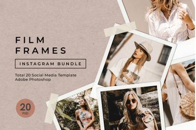 Film Frame Instagram Bundle