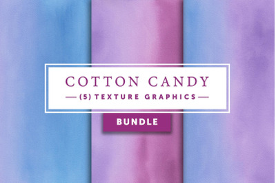 Cotton Candy Bundle   Texture Graphics