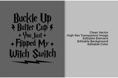 Bucke Up Butter Cup