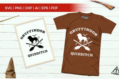 gryfindor quidditch svg files