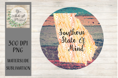 Georgia, Southern State Of Mind