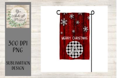 Garden Flag, Christmas Design, Winter Design