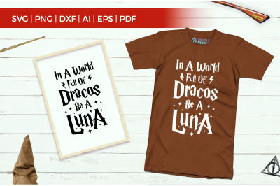 In a World Full Of Dracos