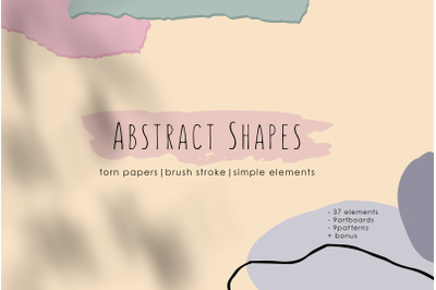 Abstract Shapes. Graphic Collection