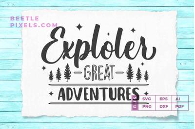 Exploler great adventure