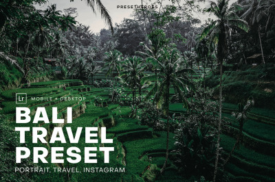 Bali Travel Lightroom Presets